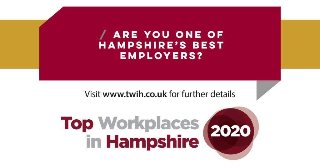 Top Workplaces in Hampshire launches today!