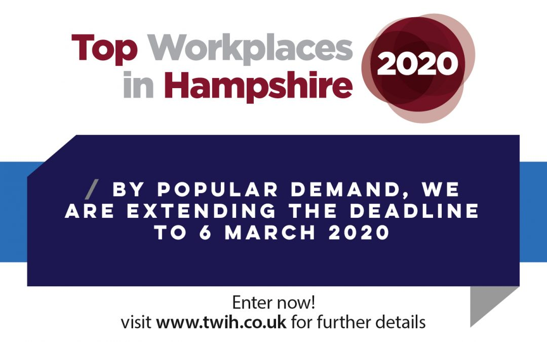 Championing Top Workplaces in Hampshire